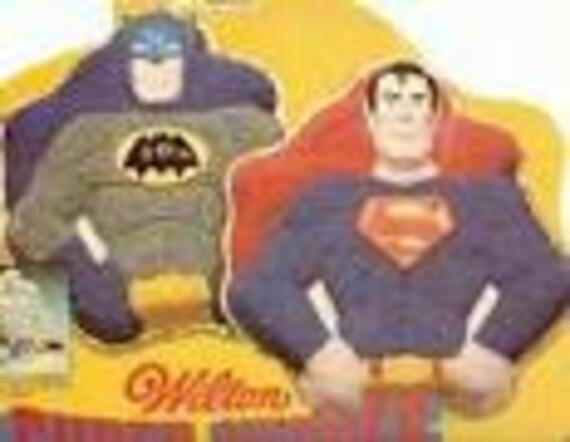 Vintage 1977 Wilton Enterprises Superman Batman Cake Pan