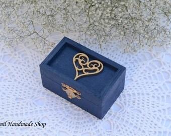 Ring Box, Wedding Ring Bearer Box, Wedding Ring Pillow
