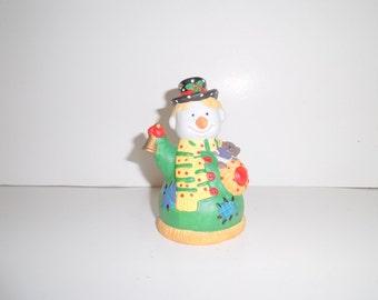 Adorable Holiday Porcelain Bell---CIJ