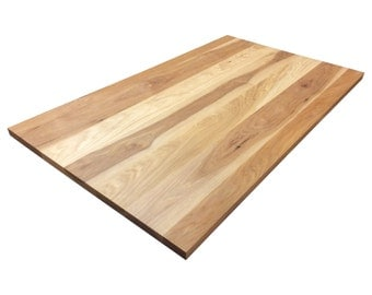 Calico Hickory Tabletop - Custom Sizes Available