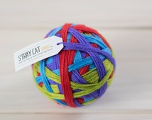 MOMENTUM - vibrant hand dyed self striping sock yarn