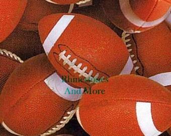 Football cotton fabric
