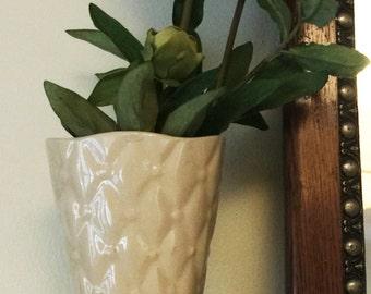 Beautiful White Shawnee Vase