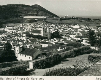 "1950s Unused Postcard From The Azores - ""Angra de Heroismo"""
