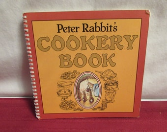 Peter Rabbit's Cookery Book Compiled By Anne Emerson 1984 Cookbook