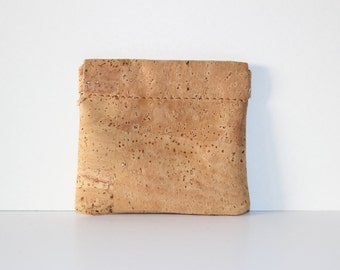 Cork Purse for coins