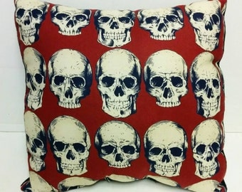 SALE! Skulls Accent Pillow