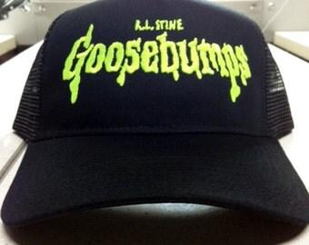Goosebumps trucker cap ghost stories kids books