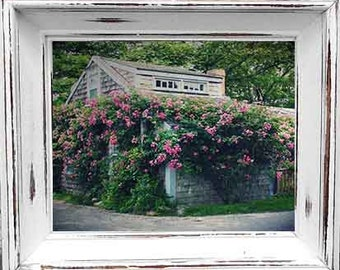 Photo Print - Cottages of Cape Cod and Nantucket Island, Siasconsett, Cottage Photography