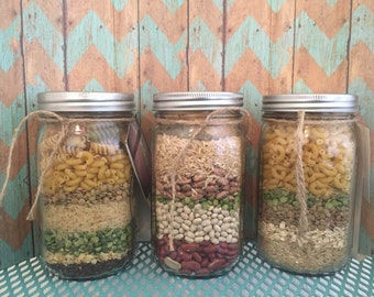 Mason Jar Soup Mix