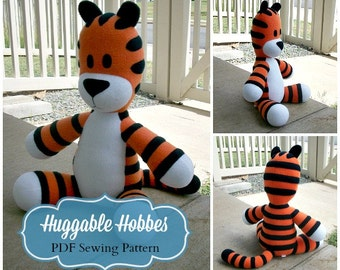 Huggable Tiger Pattern - PDF Instant Download