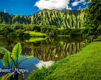 "Scenic Hawaii Fine Art Print titled ""Peace"" on 5""x7"", 8""x10"", or 11""x14"" White or Black Mat"