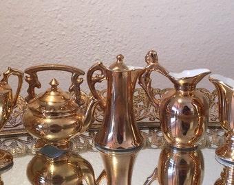 5pc Napco Ware Porcelain Miniatures