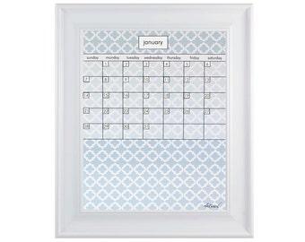 Framed Calendar, Framed Monthly Calendar