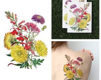 Garden Variety - Temporary Tattoo (Set of 2)