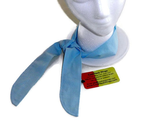Cooling Neck Scarf : Cooling bandanna gel neck scarf summer heat relief