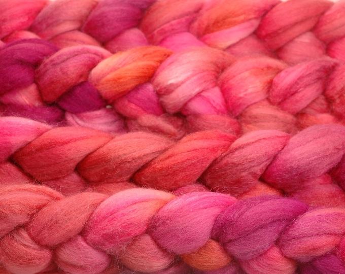OOAK 7/17 - merino/tussah silk 70/30%
