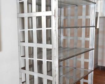 Industrial Shelf - Entenmann's Metal Baker's Rack