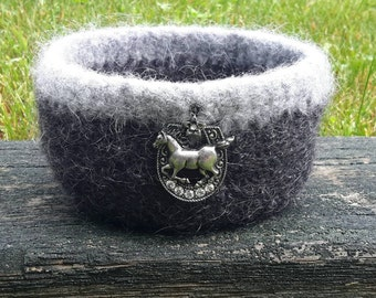 Felted Wool Bowl (Free Shipping)