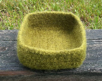 Square Felted Bowl (Free Shipping)