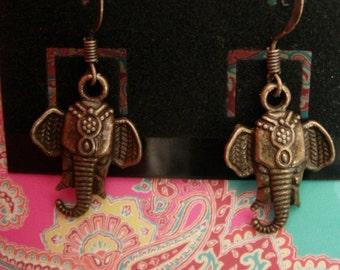 Gypsy Elephant Earrings