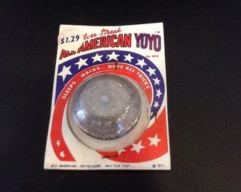 1970's dime stores all American yo-yo.