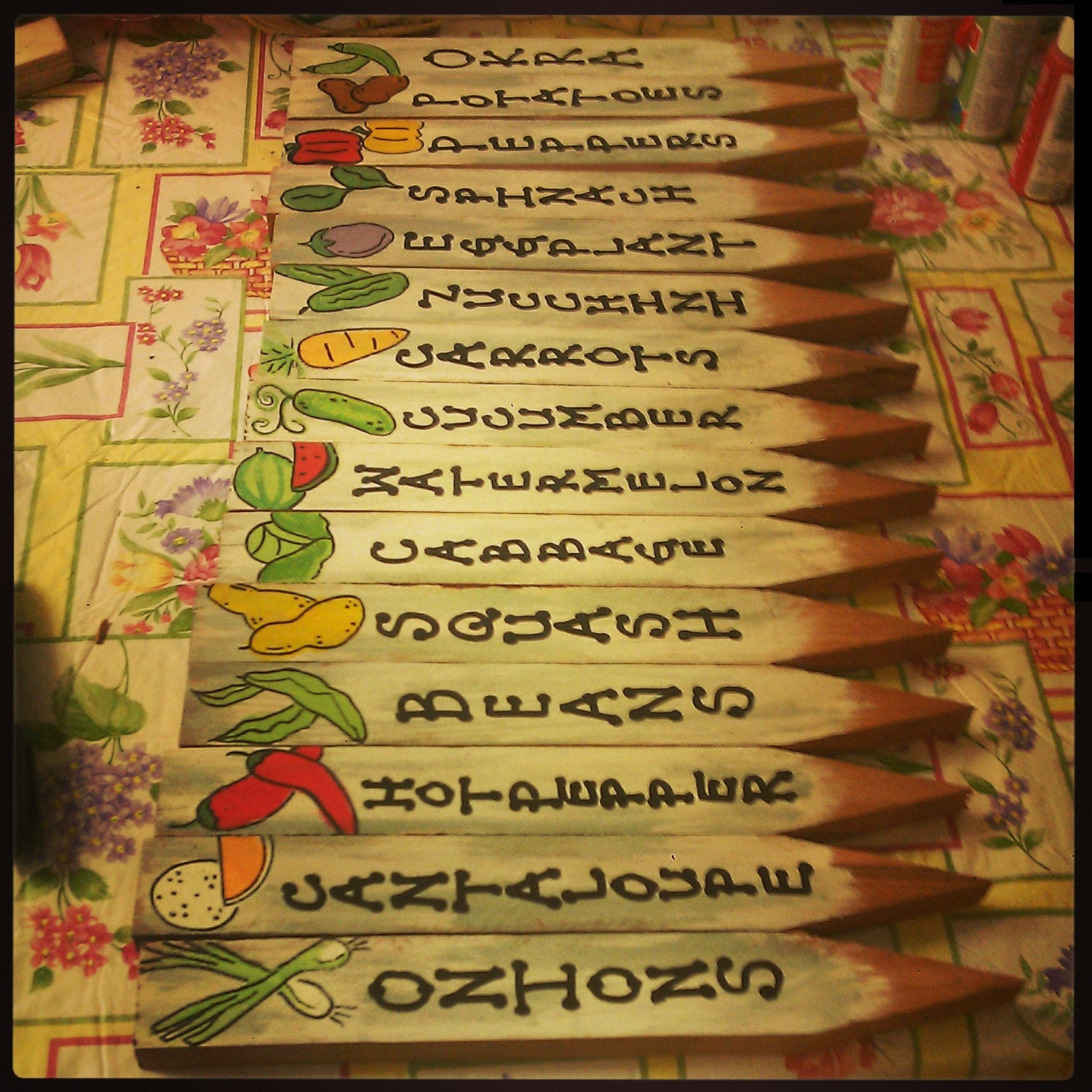 Garden Markers Garden Stakes Plant Markers Plant Stakes