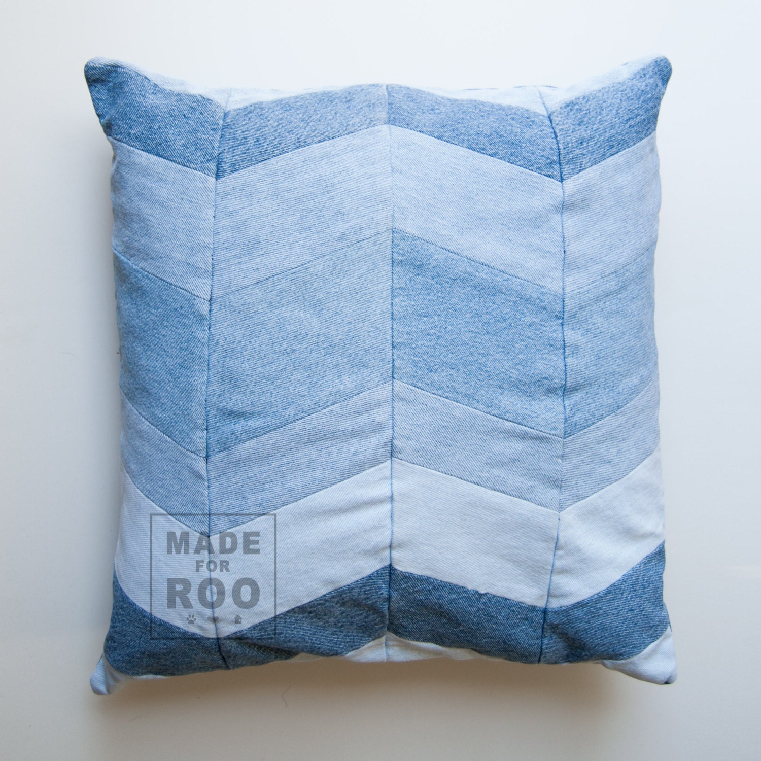 Stanford Pillowcase Denim Pillow Cover Decorative