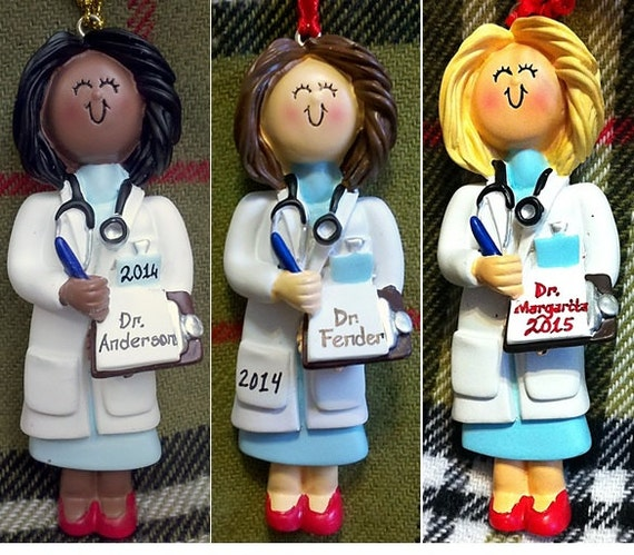 Personalized Female Doctor Gift Med By Personalizestation