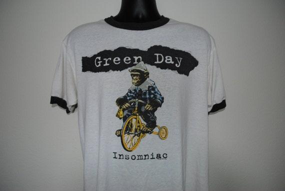 1995 green day insomniac tour vintage 90s pop punk band