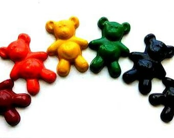 Teddy Bear crayons set of 6