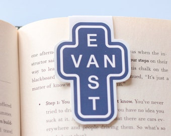 East Van Sign Magnetic Bookmark (Jumbo)