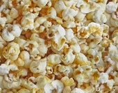 FOOD Popcorn Cotton Fabric!! [Choose Your Cut Size]