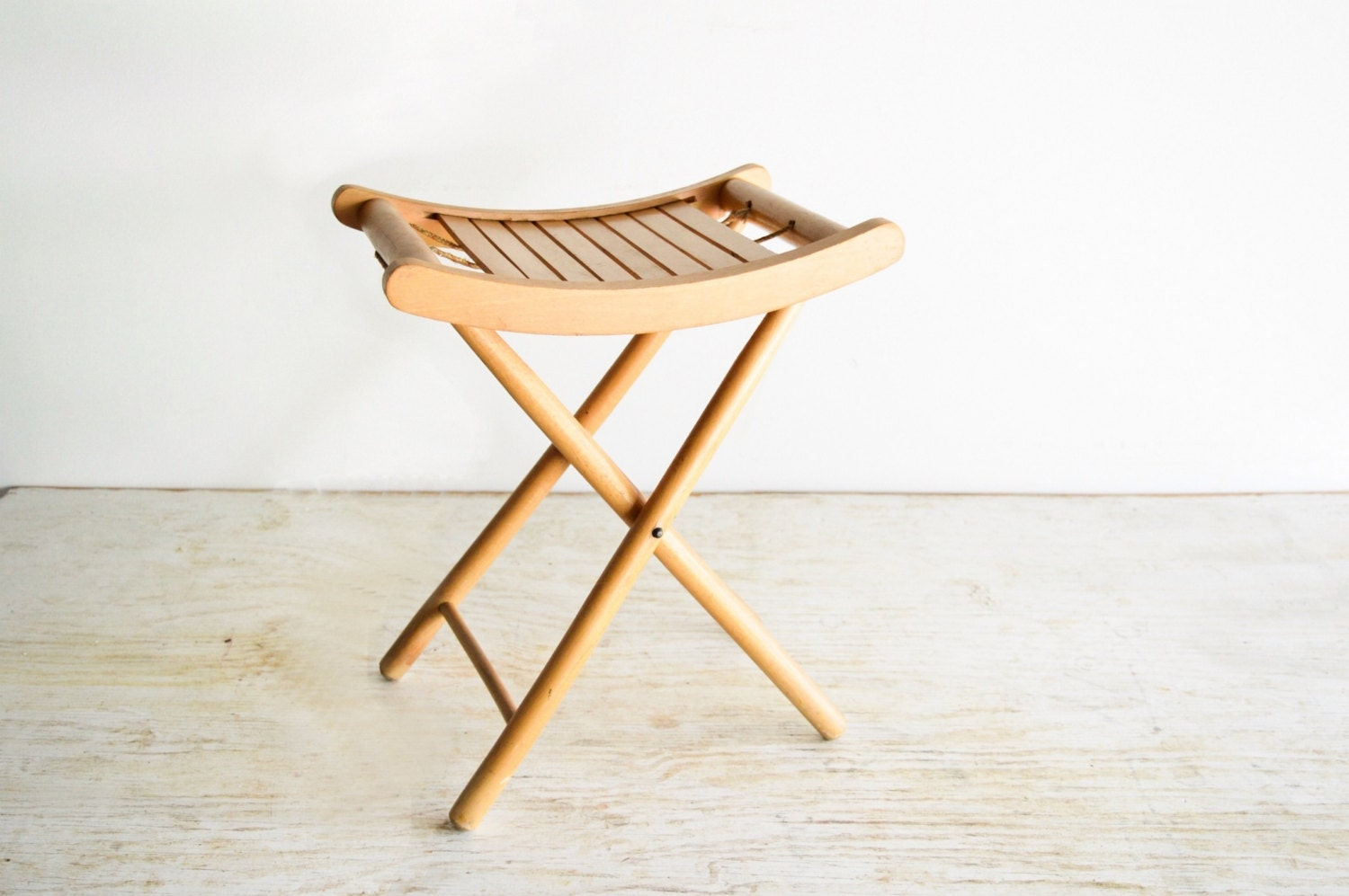 Wood Stool Camp Stool Folding Stool Camping Chair By
