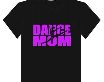 Glitter Dance Mom T-Shirt or Decal