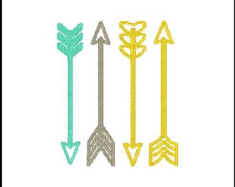 arrow embroidery  arrow embroidery design arrow embroidery addon filled arrow embroidery set design