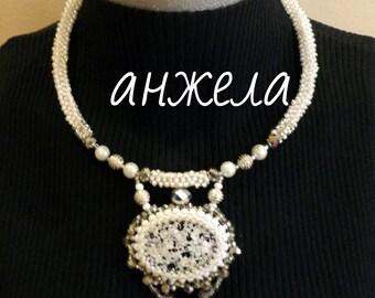 "Handmade necklace ""Grace"""