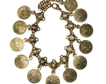 Bohemian Coin Bracelet & Anklet