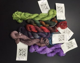 SALE- Interlacements Bamboozled - Rayon/ Bamboo Blend Yarn - Choose your Color