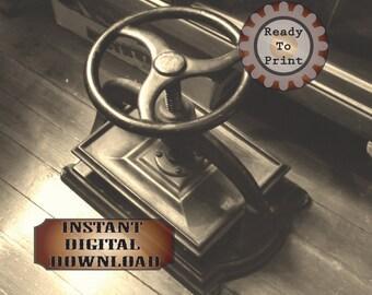 Book Press Photo Digital File Instant Download Antique Scrapbook Paper