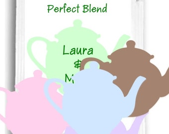 20 Tea Wedding Shower Favor