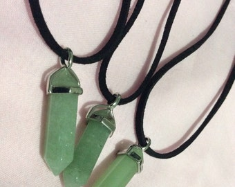 Aventurine Cord Necklace