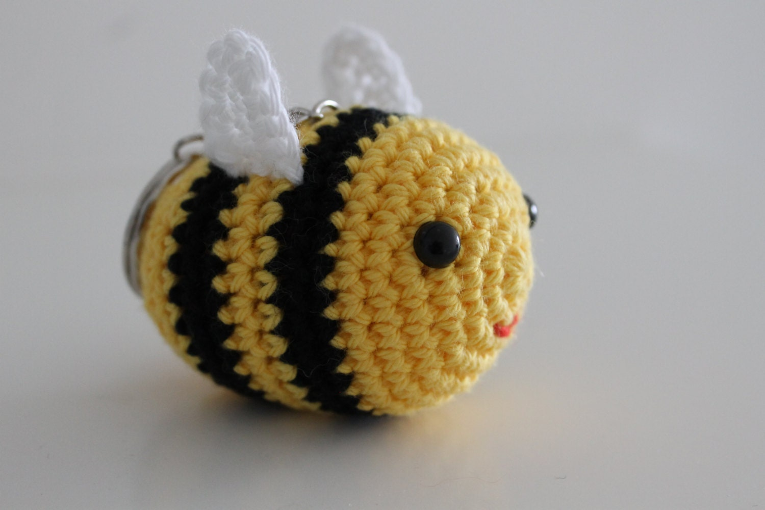 Crochet Bee Keychain on Create Your Own Traceable Name
