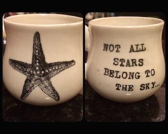 Starfish Ceramic Mug