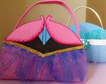 Anna Dress, Frozen Dress, Princess Dress, Frozen Birthday, Anna Birthday, Frozen Bags, Frozen Favor Bags, Frozen Party Bags, (set 15)