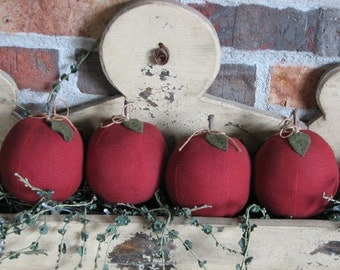 Four Apples sold as a set of 4