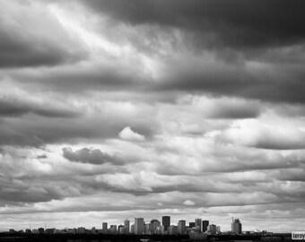 Edmonton Skyline, Fine Art Print