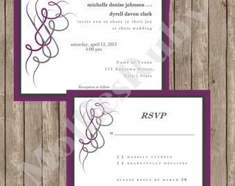Flourish Wedding Set
