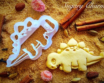 Dinosaur Stegosaurus cookie cutter
