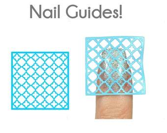 Quatrefoil Vinyl Nail Guides
